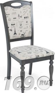 Купить Стул LT C17443 DARK GREY #G521/ FABRIC FB62 PARIS, Браво, DARK GREY/FABRIC PARIS